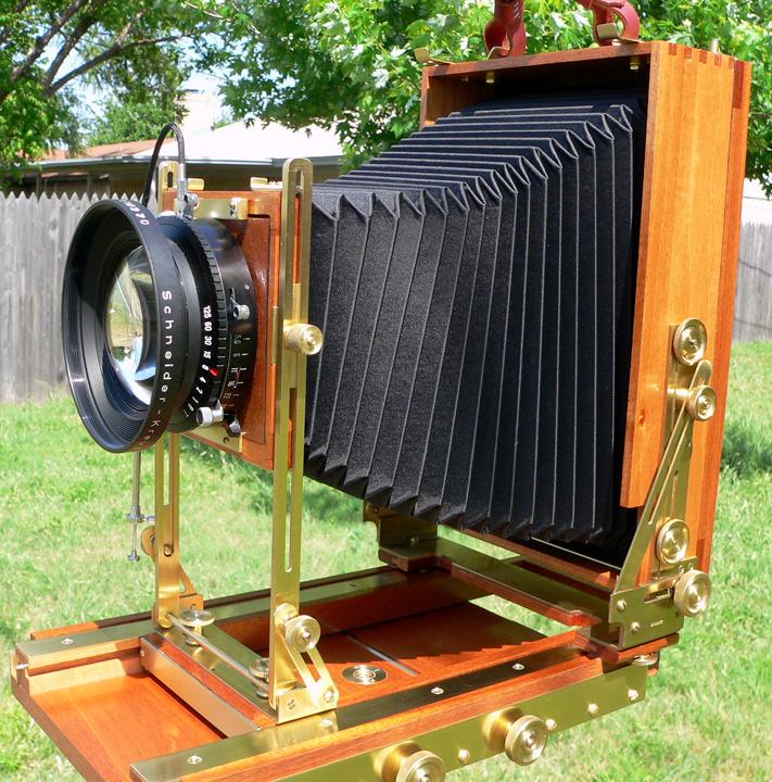 Vertical 4x10 Camera